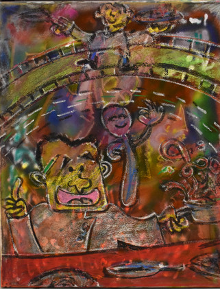 """""""A Day In Japan Town (Triptych 2)"""""""