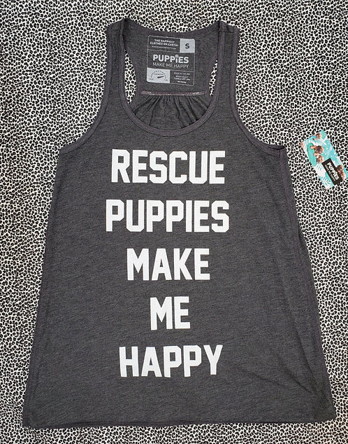 Rescue Puppies - Women's Racerback Tank (S, L)