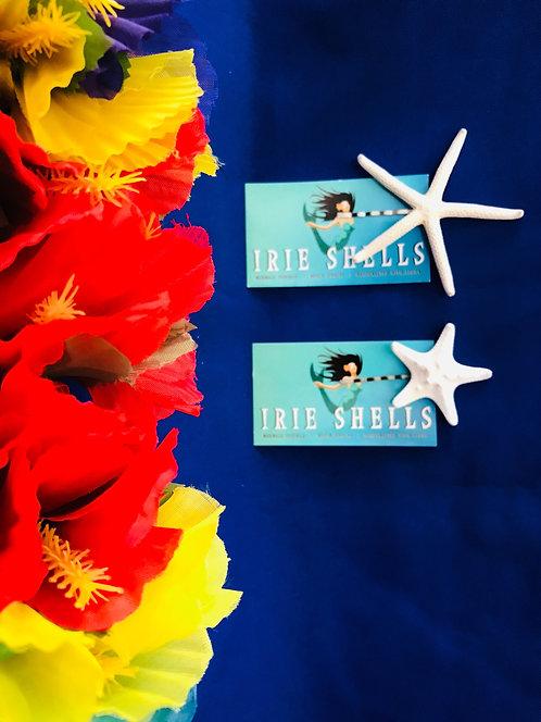Irie Shells Starfish Hair Pin