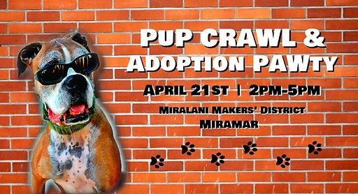 PUP Crawl & Adotion PAWty