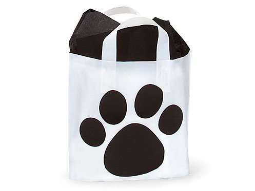 Paw Print Bags (Pack of 50)
