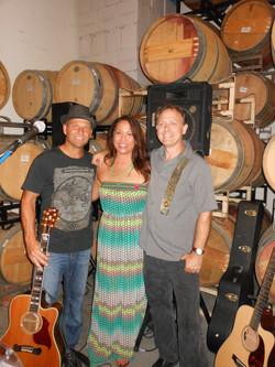 Karen with Billy Fedak & John Pappas