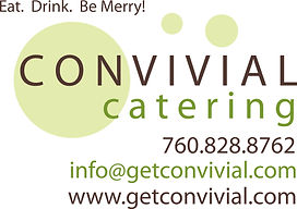 Convivial Catering San Diego events