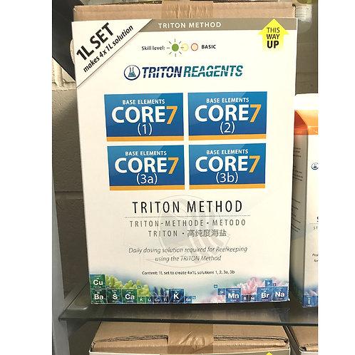 Triton Core 7 Base Elements- 4 x 1 Litre containers