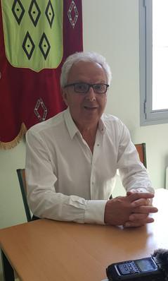 Michel Pelieu Président du  Conseil Départemental