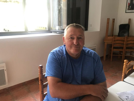 René Vidalon président de la Foire de Guchan