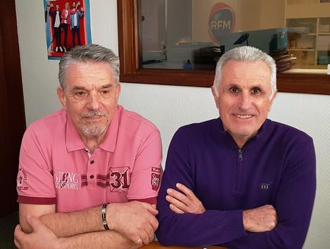 Gérard Ferras et Jean Claude Saladon Président et vice président