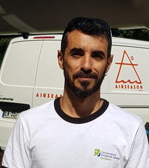 Frédéric Blanc responsable Pyrénées conservatoire d'espaces naturels d'Occitanie