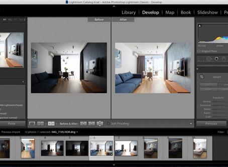 Поради як правильно та гарно обробляти фотографії інтер'єру в Lightroom