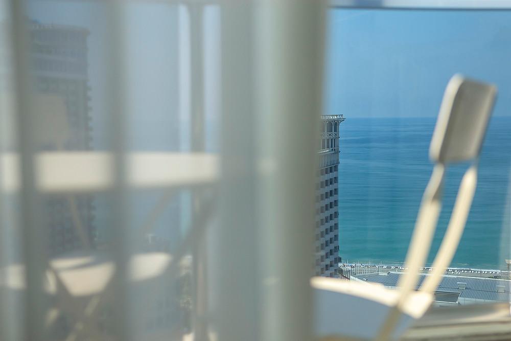 Інтер'єрна фотозйомка. Апартаменти G-Point Батумі (Грузія). 28-й поверх, вид на Чорне море