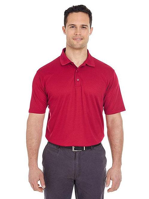 Large Men's Cool & Dry Mesh Piqué Polo Shirt (PPT Logo & Name)