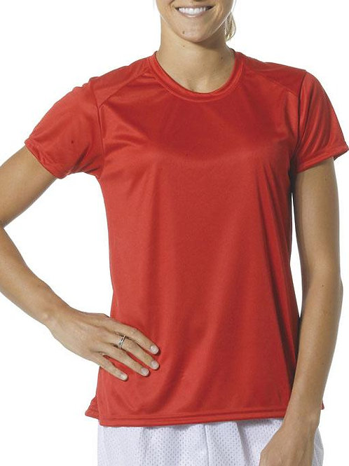 Cooling Performance Ladies Crew Neck T-shirt (PPT Logo Only)