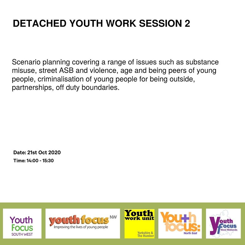 Detached Youth Work Session 2 - Community profiling