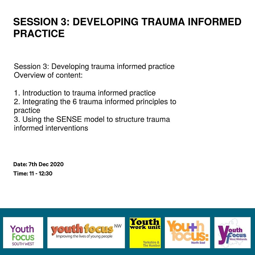 Session 3: Developing trauma informed practice