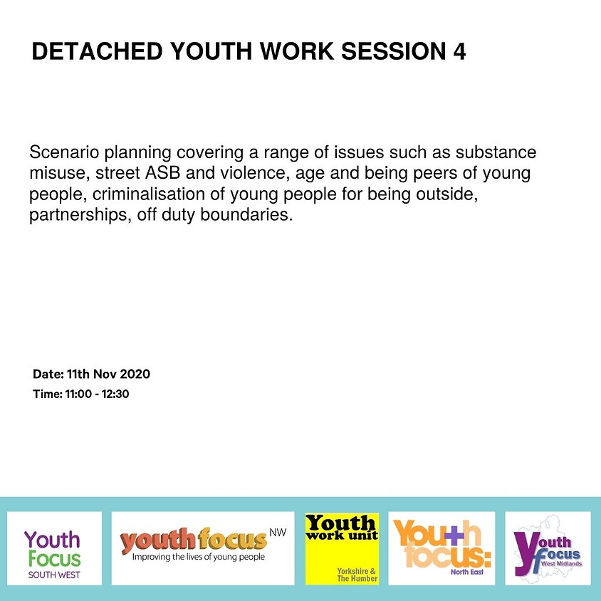Detached Youth Work Session 4 - Real life detached scenarios