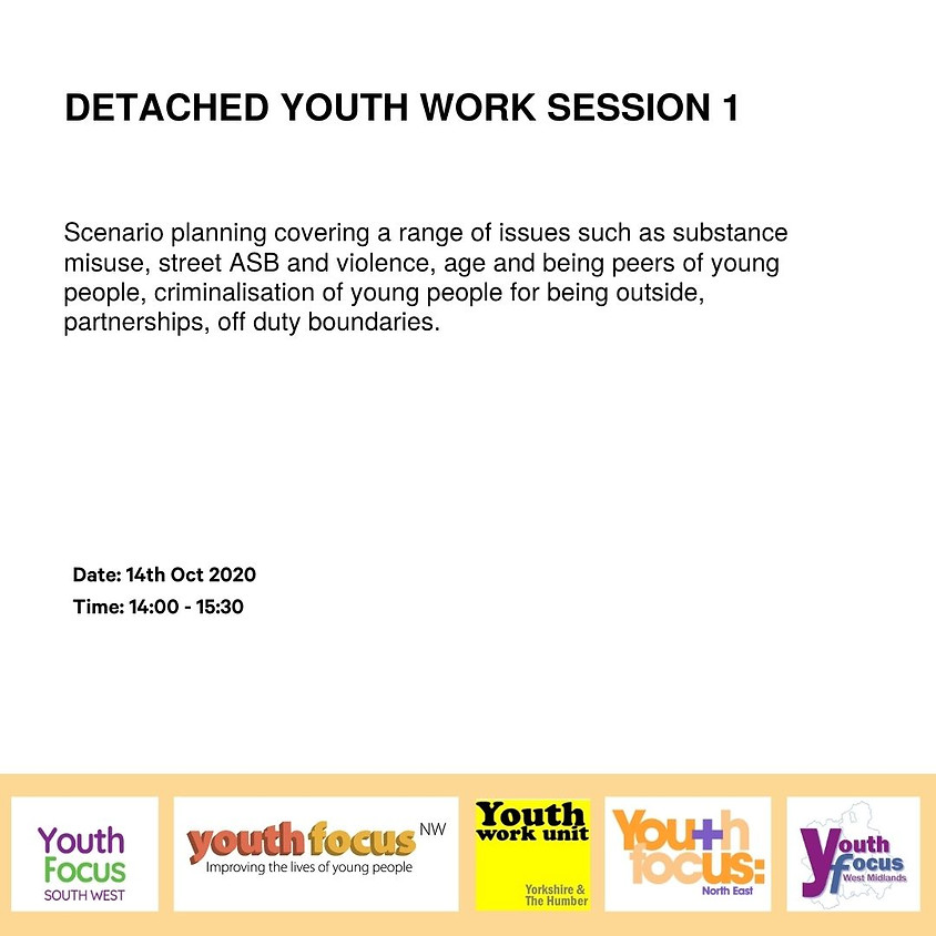 Detached Youth Work Session 1 - Getting started and planning