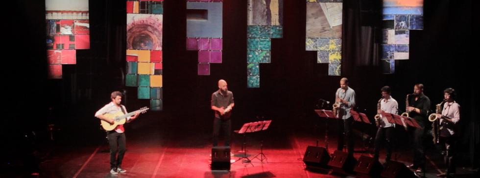 Lançamento do CD/DVD Remistura 7 no Sesc Pompeia - São Paulo