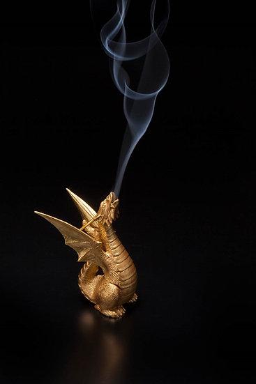 疫鎮め龍の香炉  -日輪-