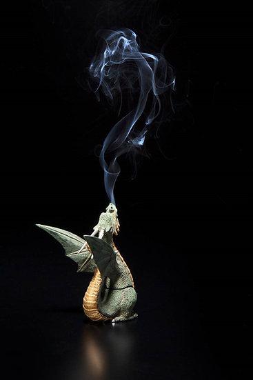 疫鎮め龍の香炉  -満月-