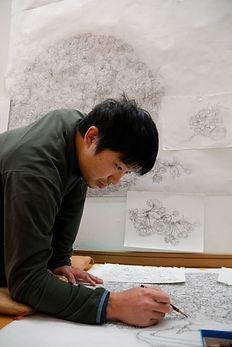 田島周吾先生 制作写真