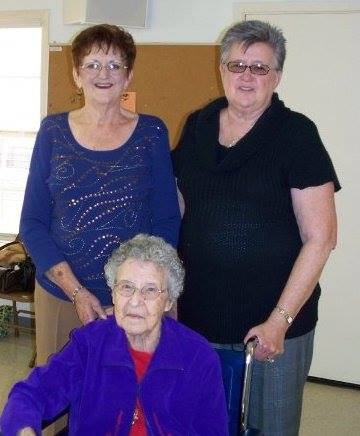 grandmother and aunts
