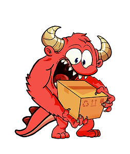 Cardboard Muncher logo