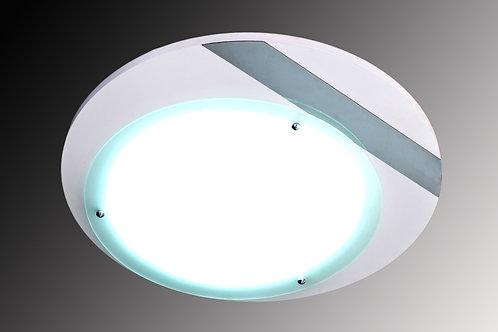 Plafon Redondo Com Vidro Temperado - WC 6130