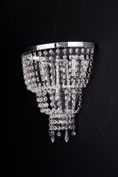 Arandela Mini Império de Cristal - IH 7705/3