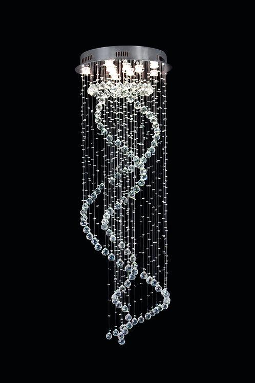 Lustre Espiral de Cristal (IH 5220)