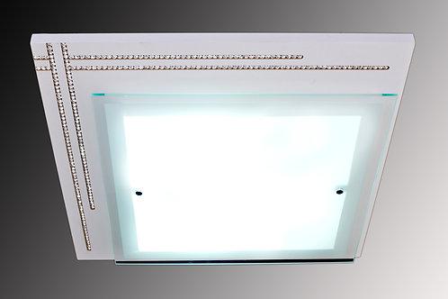 Plafon MDF Frisado com Corrente de Strass - WC 8026