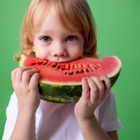 5 Tips To Get Younger Kids To Eat More Fruit and Veg.