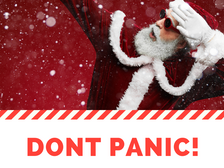 Don't Panic! It's not too late...