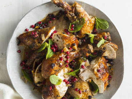 Katie Swift's Orange Blossom Moroccan-Spiced Chicken Recipe