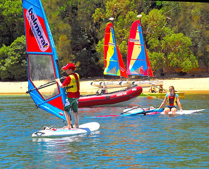 Windsurfing Lesson 2hours/1person