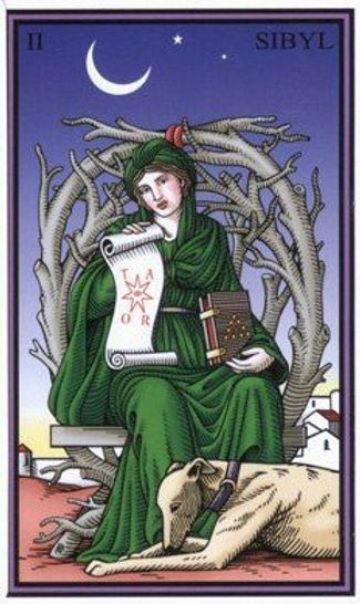 high priestess tarot of the sevenfold my