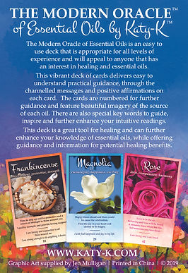 The Modern Oracle of Essential Oils Deck