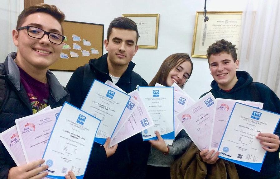 first certificate villa luro