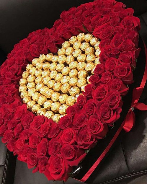 100 Roses and Chocolate