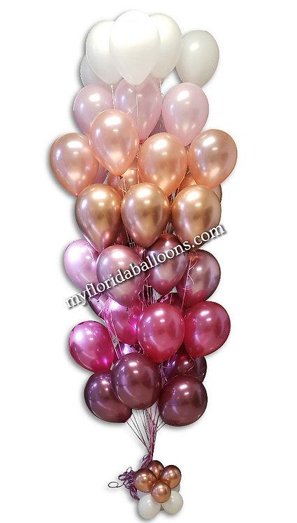 3 Dozen Smooth Balloons