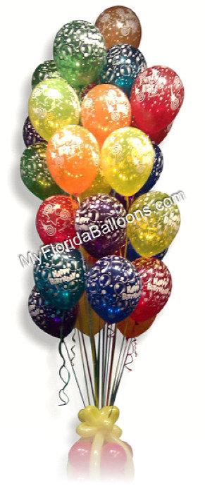30 Birthday Balloons