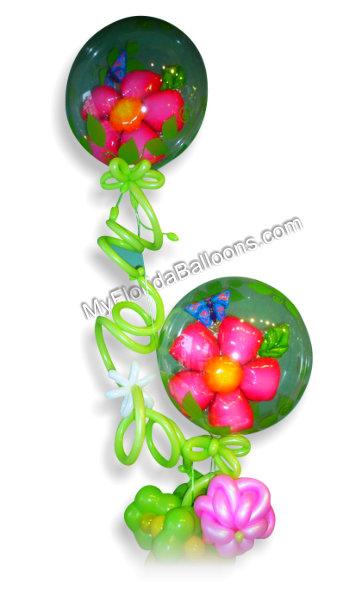 Unique Flower Balloons
