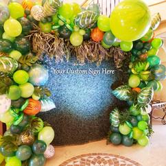 Safari theme baby shower decoration & su