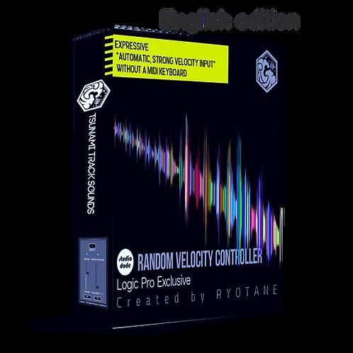 RVC-RANDOM VELOCITY CONTROLLER for LogicPro(ENGLISH)