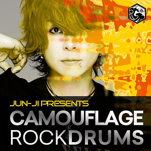 CAMOUFLAGE ROCK DRUMS