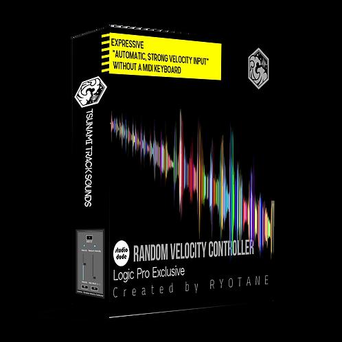 RVC-RANDOM VELOCITY CONTROLLER for LogicPro(日本語版)