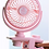 Thumbnail: SMALL PORTABLE FAN WITH USB (AUTO)