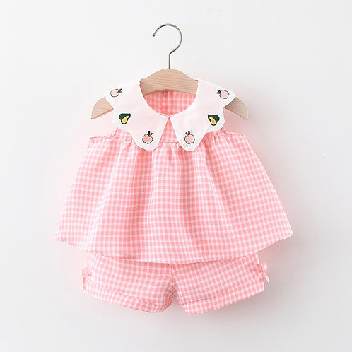 BB GIRL SLEEVELESS 2PC SET (FRUITS)