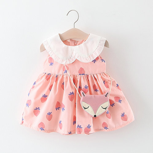 BB GIRL DRESS (FOX SLING BAG)