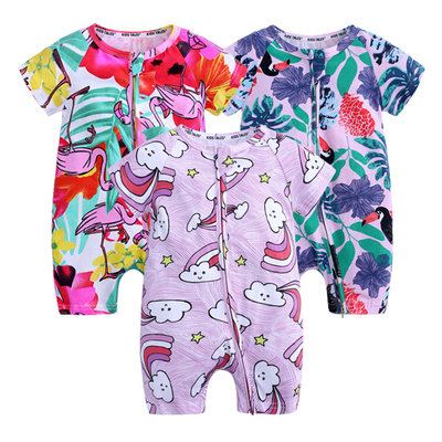 BB PYJAMAS ROMPER - 3PC