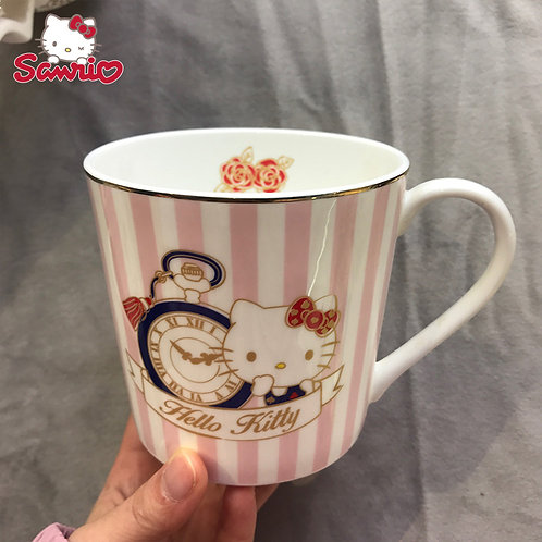 HELLO KITTY MUG - TIME CLOCK 400ML